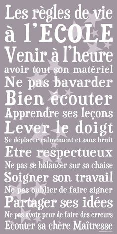 Understood most of this, Minus a few words here and there Teaching Posters, Teaching Tools, French Teacher, Teaching French, How To Speak French, Learn French, Classroom Organization, Classroom Management, Classroom Ideas