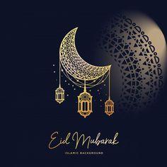 Ramadan kareem islamic background moon and star concept Premium Vector Eid Mubarak Images, Eid Mubarak Wishes, Happy Eid Mubarak, Eid Wallpaper, Islamic Wallpaper, Iphone Wallpaper, Eid Al Fitr, Tatouage Main Hamsa, Eid Card Designs