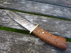 "Silverback ""HUXDORF"" Bowie Handmade Bowie Knife Made in by Gorillabladeworks in Sweden."
