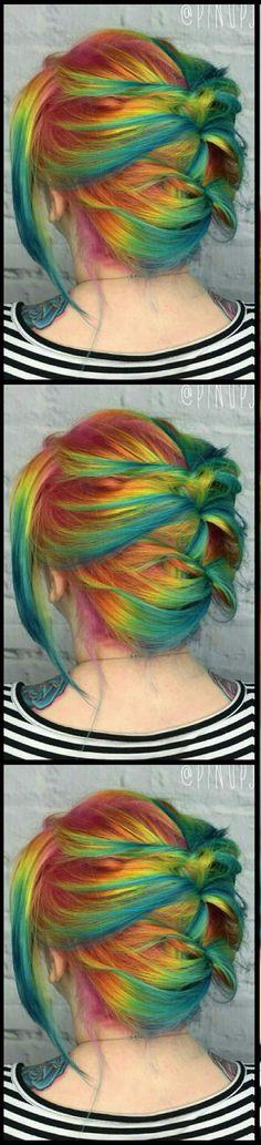 Dyed hair @pinupjordan