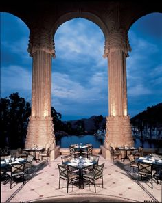 the breakfast patio The Palace of the Lost City, Sun City, South Africa Rest Of The World, Travel Around The World, Wonders Of The World, Sun City South Africa, Sun City Resort, South Africa Honeymoon, South Afrika, Revival Architecture, Holiday Places