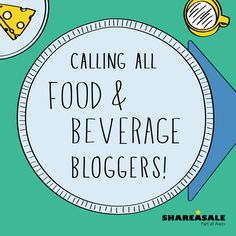 Do you live, breathe, and eat food blogging? Then this post is for you! Calling All Food & Beverage Bloggers! #blogger #affiliate
