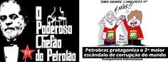 A corrupção e os desvios bilionários na Petrobras, revelados pela operação Lava Jato da Polícia Federal, são o segundo maior escândalo de corrupção do mundo, de acordo com lista da campanha Desmascare os Corruptos. Com 11.900 votos na eleição realizada pela ONG Transparência Internacional, o petrolão só perdeu para o ex-presidente da Ucrânia Viktor Yanukovich,…