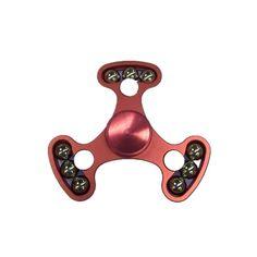 #BangGood - #Aluminum Aluminum Alloy Tri-Spinner Multi-Color Fidget Hand Spinner EDC Reduce Stress Focus Attention Toys - AdoreWe.com
