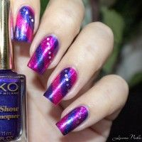 Nail Art Purple Striping Tape