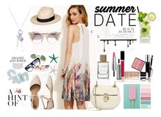 """Summer"" by jeca09 ❤ liked on Polyvore featuring Roxy, Jimmy Choo, Gap, Chloé and Givenchy"