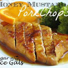 .Honey Mustard Pork Chops
