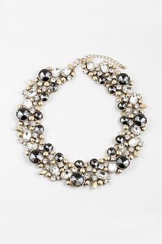 Crystal Collier Necklace in Black Diamond | Awesome Selection of Chic Fashion Jewelry | Emma Stine Limited