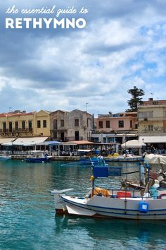 The essential guide to sightseeing, exploring and of course dining in Rethymno, Crete, Greece. Crete Greece, Santorini Greece, Athens Greece, Crete Island, Greece Islands, Rethymnon Crete, Crete Holiday, Greece Travel, Greece Trip