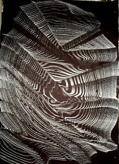 Marbled paper by Necmiye Albayrak.