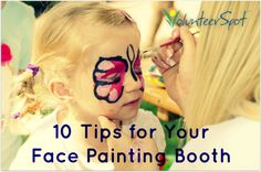 10 Tips for Your Face-Painting Booth - Online Sign Up Blog by ...