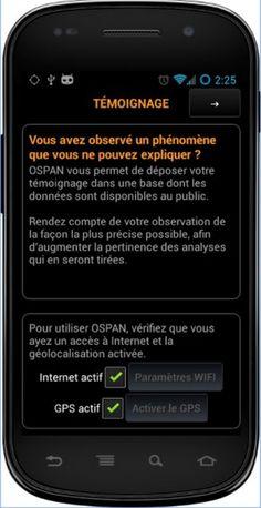 OSPAN est un projet scientifique indépendant visant à fédérer une communauté internationale autour de la récolte d'observations et l'étude statistique du phénomène OVNI.