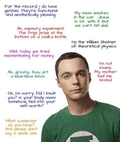 Ha love sheldon!!! :) <3