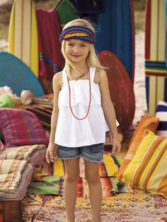 Young hippie chic...pretty much my future child