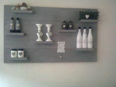Wandpaneel Decor, Wood, Shelves, Floating Shelves, Floating, Home Decor, Bathroom, Bathroom Hooks