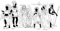 Selene introducing Artemis to the other gods and... - Port of Zelda