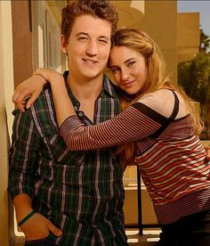 Shailene Woodley and Miles Teller for The Spectacular Now Shailene Woodley, Miles Teller, Divergent Trilogy, Divergent Insurgent Allegiant, The Spectacular Now, Veronica Roth, The Fault In Our Stars, Live In The Now, Pretty People