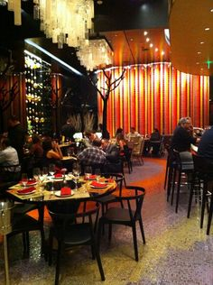 """Julian Serrano Tapas in Vegas, NV  @ Aria   Less expensive than its northerly sib, Picasso, this Spaniard by """"master chef"""" Julian Serrano purveys """"tapas as they should be"""", with a menu of """"sublime"""" small plates"""