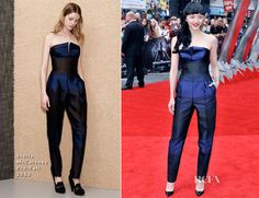 Rila Fukushima In Stella McCartney – 'The Wolverine' London Premiere