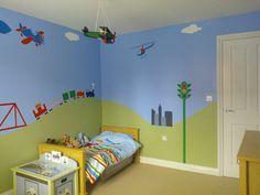 Transportation Room Makeover in England - My Wonderful Walls
