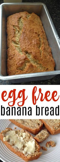 Recipe: Eggless Banana Bread   The Food Hussy!