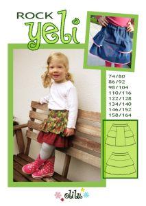kostenloses Schnittmuster Yeli für Kids