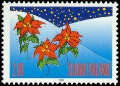 Joulupostimerkki 1995 2/2 - Joulutähdet