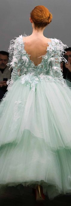 Tony Yaacoub Spring 2014 Couture | bcr8tive