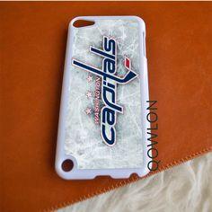 Washington Capitals Ice Logo iPod Touch 5   5TH GEN Case
