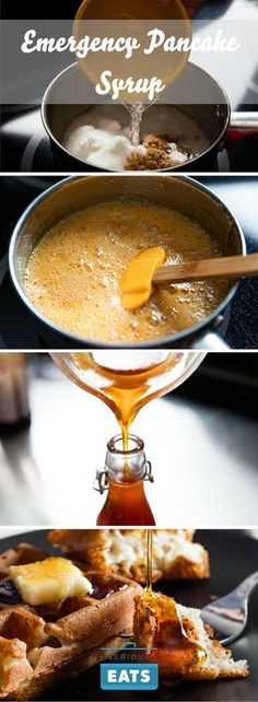 Homemade pancake syrup recipe fast easy now i can cross one emergency pancake syrup a simple hack youll actually use ccuart Choice Image