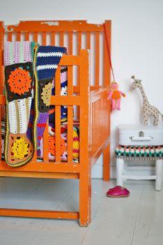 rock-a-bye baby, thy cradle is orange by wood & wool stool, via Flickr