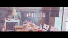 I adore this shooting - inspired by water colore design... just check it out and enjoy the beautiful experience!!!