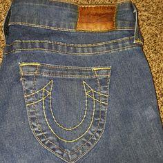 TRUE RELIGION- JEANS 30 X 34 INSEAM TRUE RELIGION- JEANS 30 X 34 INSEAM.  These jeans are Gorgeous! These are a Re-Posh! True Religion Pants