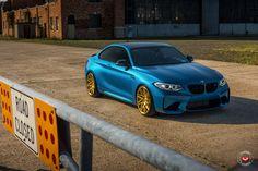 BMW M2 Gets A Splash Of Gold