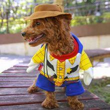Engraçado Traje Do Animal de Estimação Roupa Do Cão Filhote de Cachorro Do Cão Casacos Jaquetas para 40C Halloween Vestir Festa Vestuário para Animais de Estimação(China)
