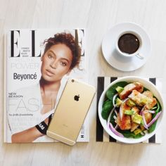 Chicken Salad, Coffee and a side of Beyoncé