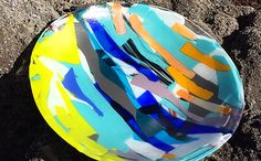 Fantasy Bowl 2 - fused glass