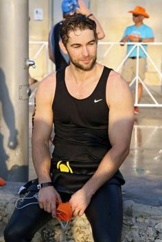 Chace Crawford is seen at the Life Time Triathalon on April 2017 in Miami Beach, Florida. Chace Crawford Shirtless, Nate Gossip Girl, Gossip Girls, Chase Crawford, Nate Archibald, Triathalon, Chuck Bass, White Boys, Fashion Today