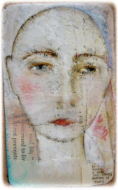 """""""Adelia""""  by Lynne Hoppe  I so love her style!   Beautiful simplicity. this is what I aspire to in my work."""