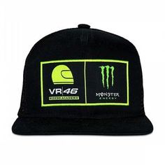 9b4d83d4f674c 46 VALENTINO ROSSI VR46 CAP MONSTER ENERGY DUAL ADJUSTABLE OFFICIAL MOTOGP  2018