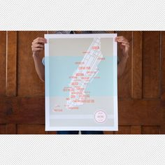 elegant Manhattan map -