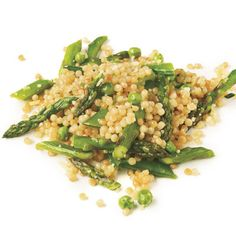 Find the recipe for Israeli Couscous with Asparagus, Peas, and Sugar Snaps and other sugar snap pea recipes at Epicurious.com