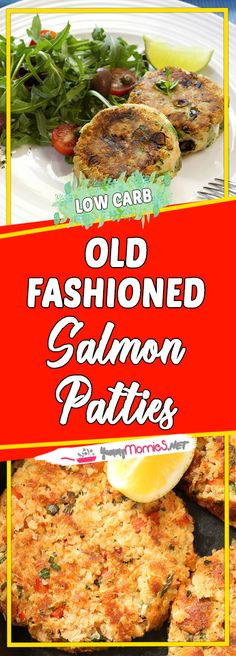 Old Fashioned Salmon Patties Via easy dinner recipes for family recipe recipes dinner recipes dinner time dinner Fast Dinner Recipes, Clean Eating Recipes For Dinner, Clean Recipes, Organic Recipes, Easy Recipes, Clean Foods, Eating Clean, Heart Healthy Recipes, Healthy Snacks