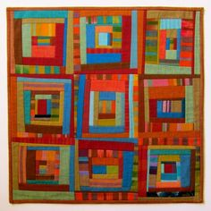 Scrap Bag no.1 - Patchwork Art Quilt by Victoria Gertenbach, Lancaster, PA