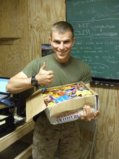 ...The Halloween Candy BuyBack Boosts Troops' Morale...
