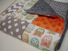 Short Legged Owls with Chevron and Polkas Baby by KBExquisites, $46.00