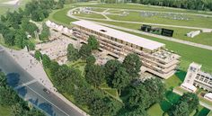PARIS, France – One year and a day ahead of the reopening of Longchamp racecourse, the course has received a new name, ParisLongchamp, as announced on Friday at the construction site of what will become …