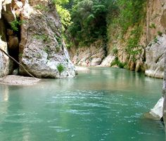 Acheron River 2 through the eyes of arnie -- Acheron, GREECE - the River of Woe, entrance to the Underworld