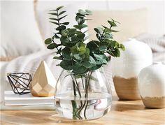 BATTERSEA DROP SHAPED VASE - CLEAR , Vases , Homewares