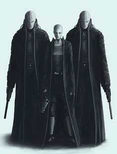 Image result for cyberpunk bodyguard